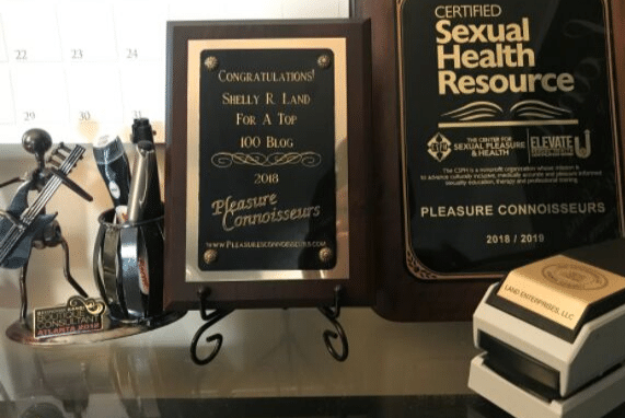 pic of plaques for sex ed and blog