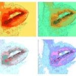 Highlights So Far: Sex Ed Is Fun, colorful color block photo illustration with lips.
