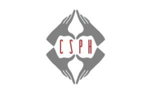 Sex Ed Classes, The Center for Sexual Pleasure and Health logo, grey hands surrounding read fonts.
