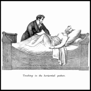 Sex Ed Summer 100. Sex Toys: The History, image of a historical physician giving a women a pelvic massage.