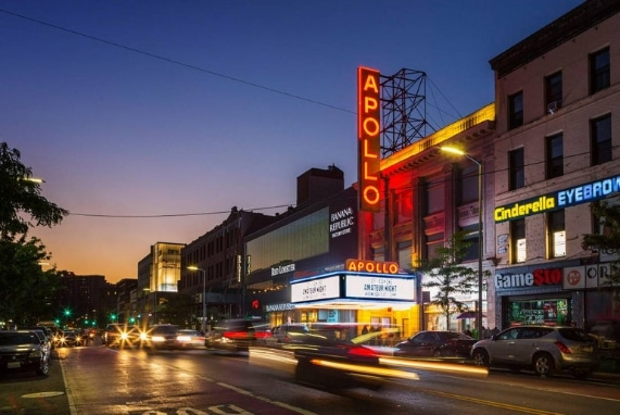 A Raw experience, image of the apollo in harlem